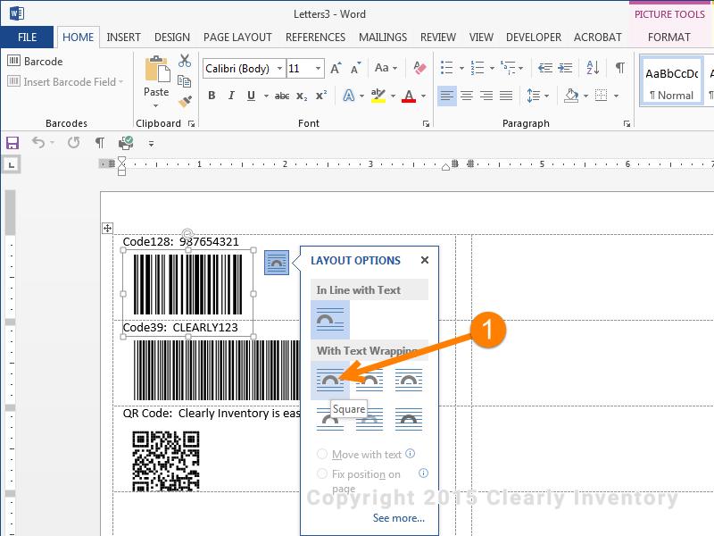 Tạo mã vạch sản phẩm và cá nhân bằng Microsoft Word