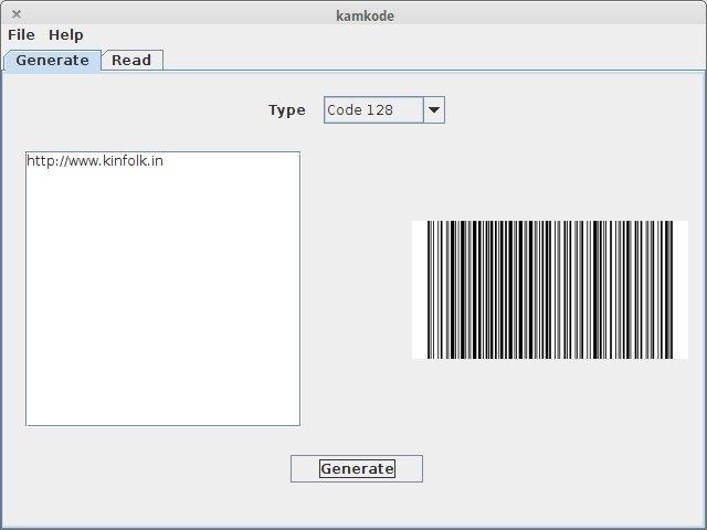 Phần mềm quét mã vạchKamkode