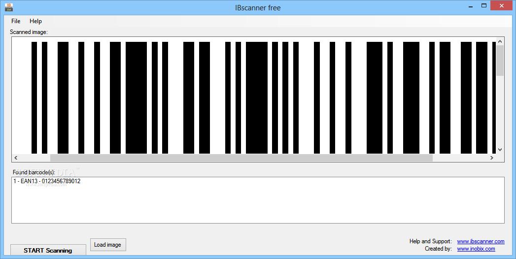 Phần mềm quét mã vạch IBscanner Free