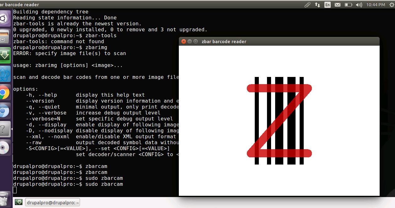 Phần mềm quét mã vạchZBar Barcode Reader