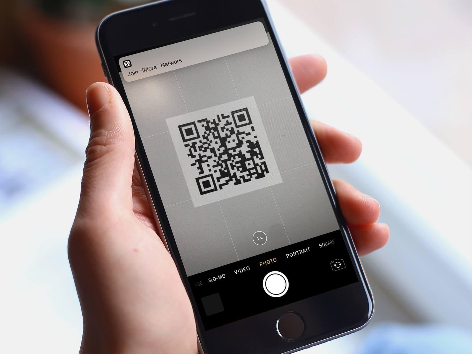 iOS 11 có hỗ trợ quét mã QR trực tiếp tại camera của điện thoại