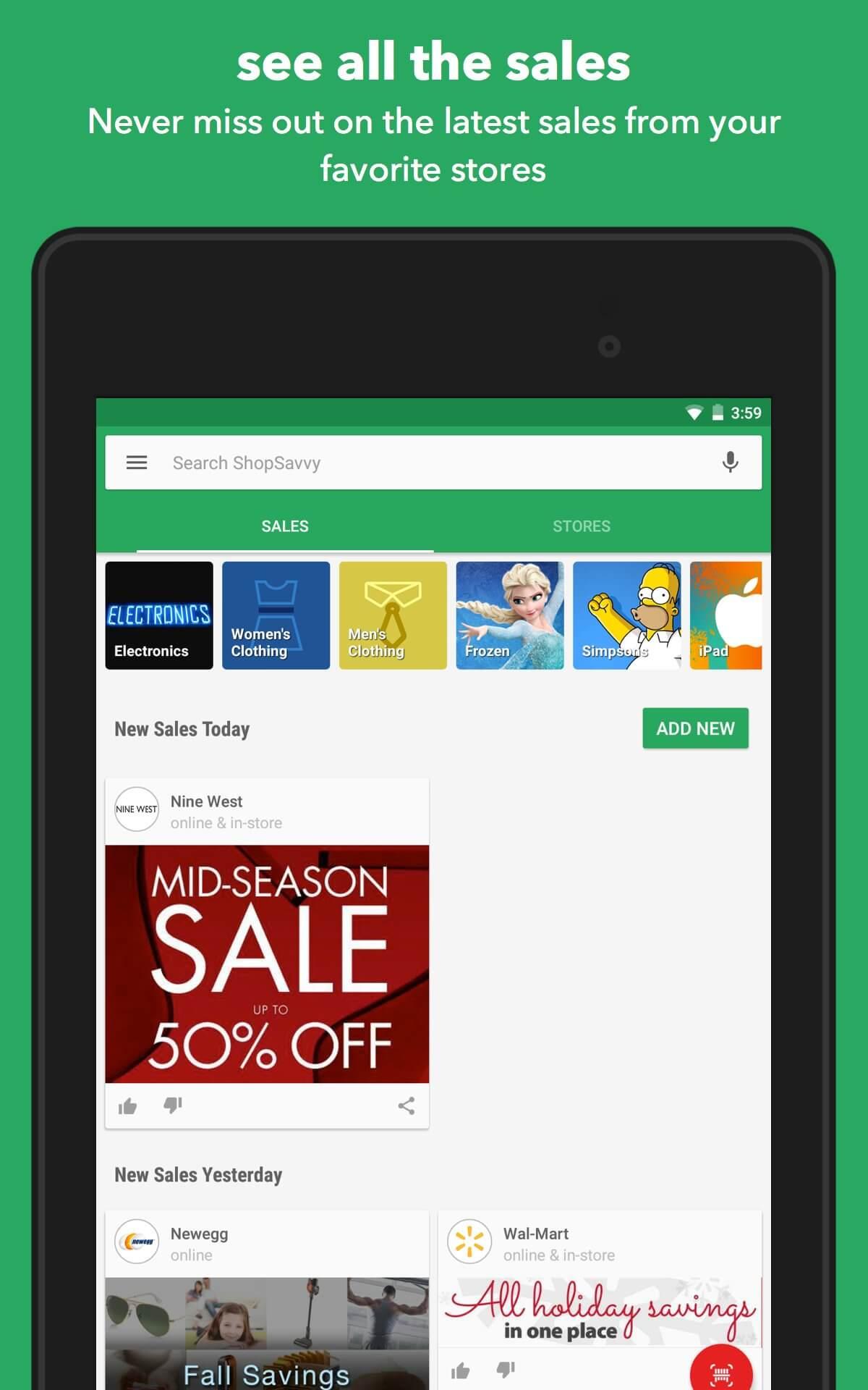 Phần mềm quét mã vạch cho Android ShopSavvy Barcode & QR Scanner