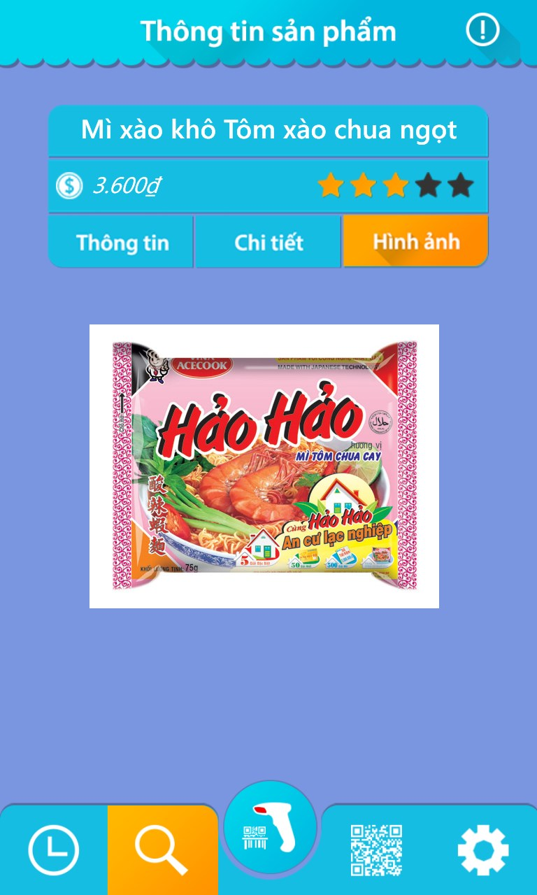 Phần mềm Barcode Việt cho Android