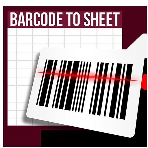 Phần mềmBarcode to Sheet