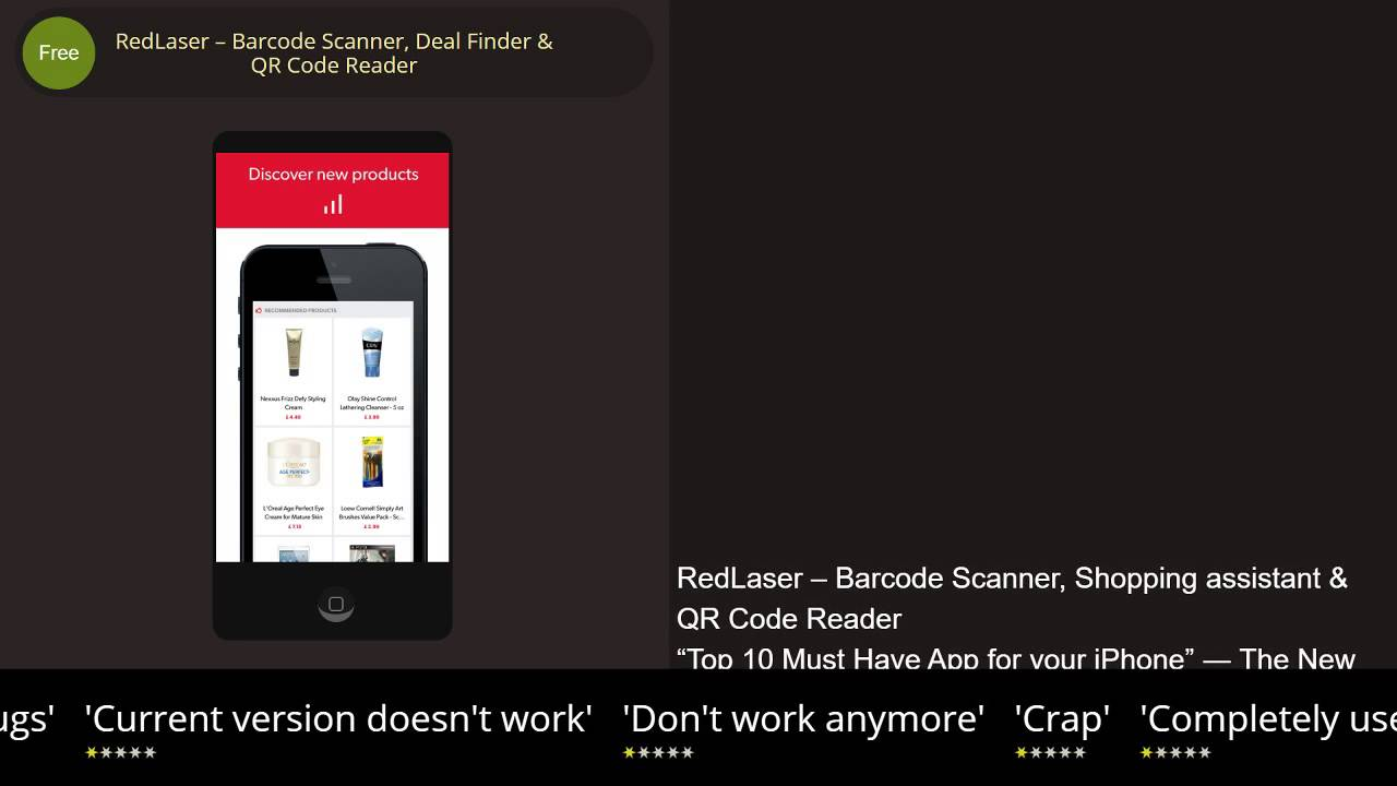 RedLaser – Barcode Scanner, Shopping Assistant & QR Code Reader