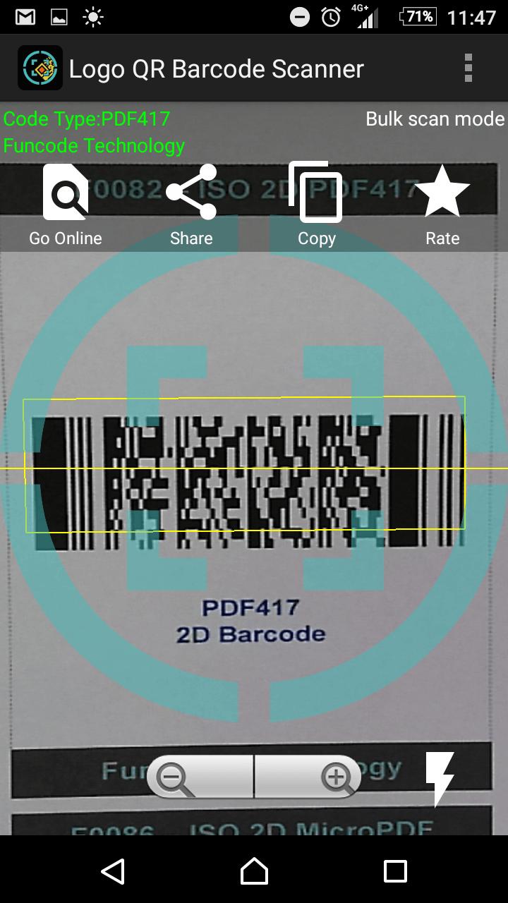 Phần mềmPDF417 Barcode Scan Demo App