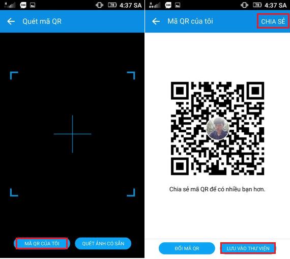 Cách sử dụng mã QR code Zalo để đăng nhập