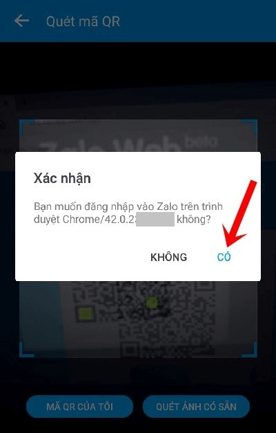 Hướng dẫn quét mã vạch Zalo để đăng nhập máy tính, trình duyệt
