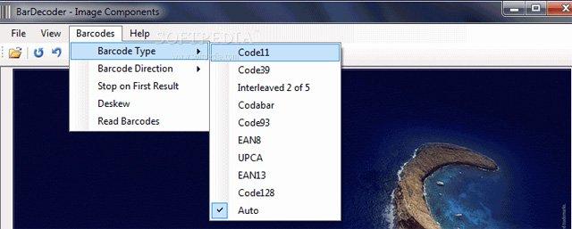 Một phần mềm quét mã vạch trên laptop, máy tính miễn phí