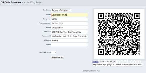 Cách tạo mã QR code cá nhân trực tuyến vô cùng đơn giản