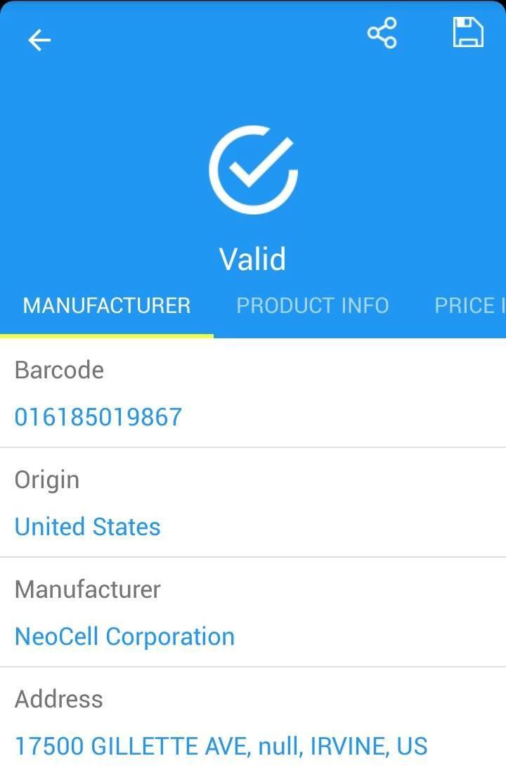 Hướng dẫn cách quét mã vạch sản phẩm chính hãng