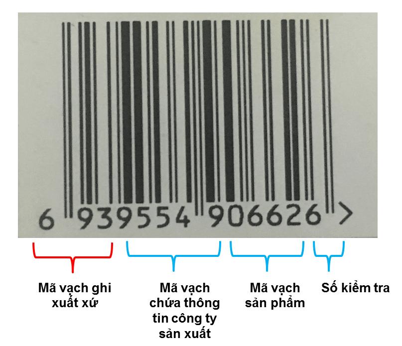 Mã vạch 693 là của quốc gia nào? Cách đăng ký mã vạch