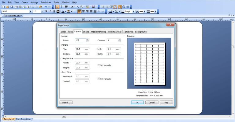 Hướng dẫn cách in danh sách mã vạch bằng máy in thường đơn giản