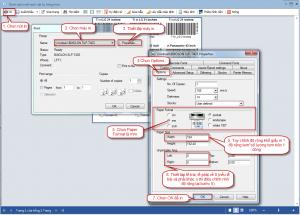 Hướng dẫn in mã vạch trên Misa cho khách hàng