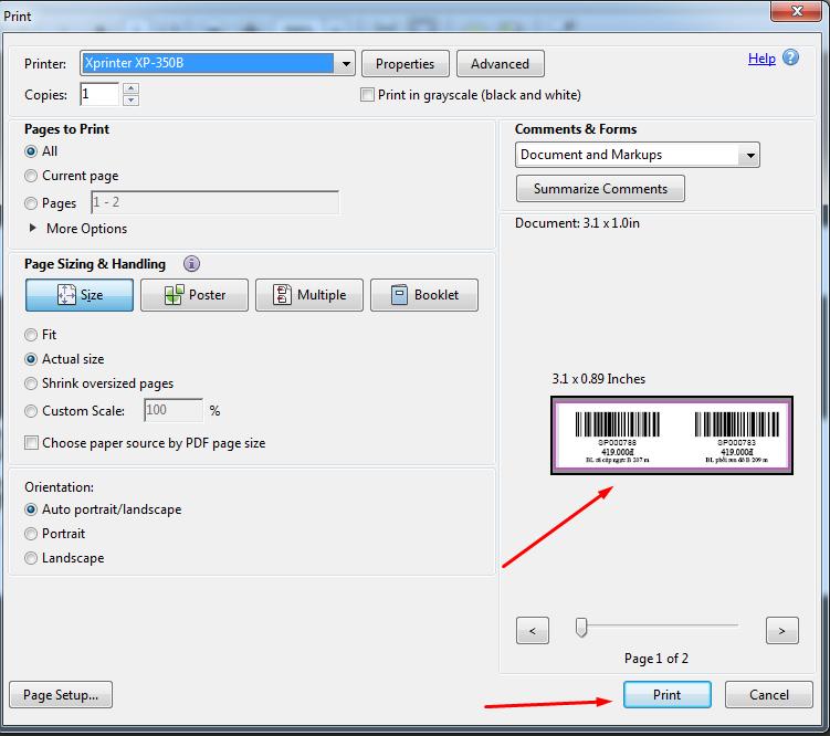 Hướng dẫn cách cài đặt máy in mã vạch 2 tem chuẩn nhất