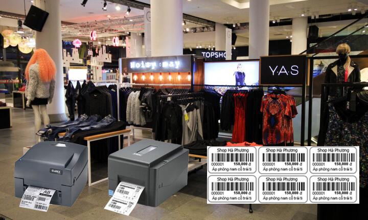 Cách chọn máy in mã vạch cho Shop quần áo phù hợp nhất
