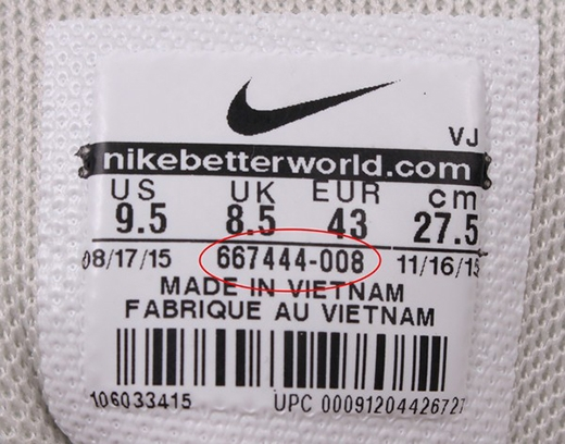 Cách check mã vạch giày Nike chính hãng và hàng fake chính xác nhất
