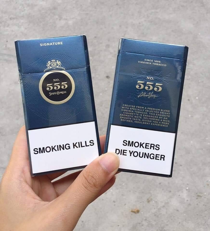 Mã vạch thuốc lá 555 và những điều cần biết
