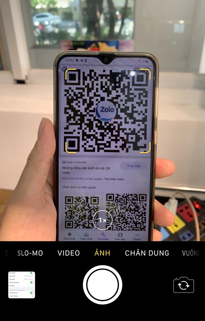 Hướng dẫn quét mã vạch camera trên điện thoại nhanh nhất