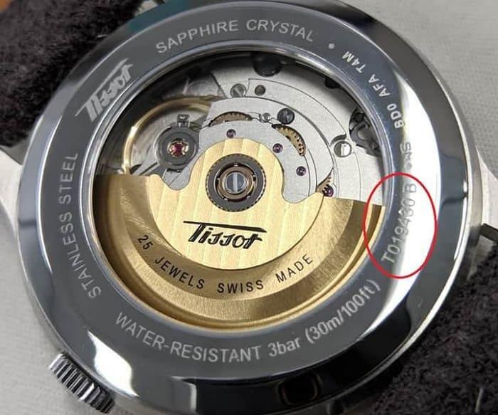 Cách quét mã vạch đồng hồ Tissot để biết hàng chính hãng và fake